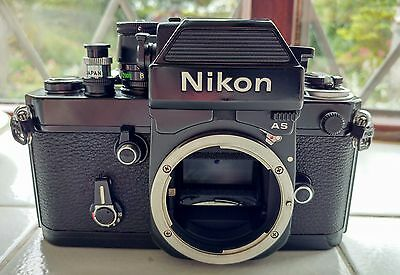 Nikon F2AS Photomic 35mm SLR Film Camera Body. Fully serviced by Sover Wong.