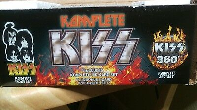 Komplete KISS Ikons Set and 360° Set 180 Cards Exclusive Blue Kiss Ed open box