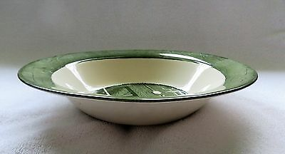 "Vintage Colonial Homestead 10"" Round Vegetable Bowl by Royal; 1950's; Excellent"