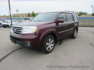 2015 Honda Pilot 4WD 4dr Touring w/RES & Navi 4WD 4dr Touring w/RES & Navi SUV Automatic Gasoline V6 Cyl Dark Cherry Pearl