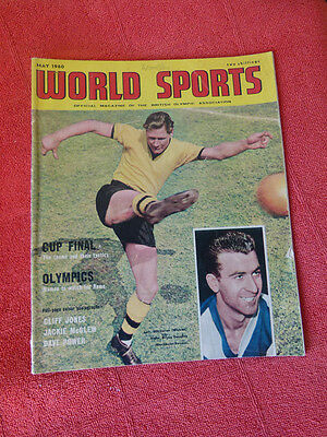 Vintage Worlds Sports Int. Sports Magazine. May 1960 - Bill Slater