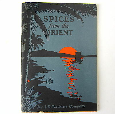 J  R Watkins Spices from the Orient 1927 Vintage Booklet Original Advertising