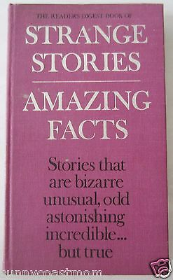 Readers Digest: Strange Stories, Amazing Facts