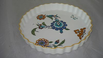 Royal Worcester Palmyra Bride of the Desert Quiche Dish Pan Fluted EUC