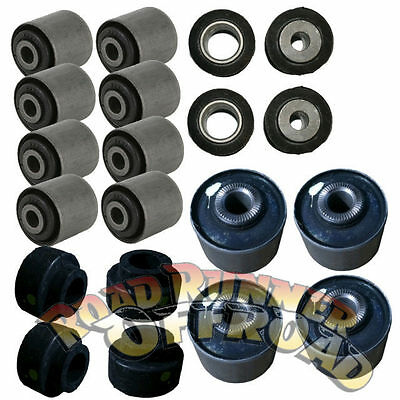 Full Suspension Bush kit rubber NEW 2yr warranty for GQ Nissan Patrol
