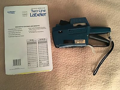 Garvey 2 Line Labeler Model 22-88