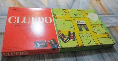 Vintage Waddington's Cluedo Board Game Murfett Australia 1965 Complete in box GC