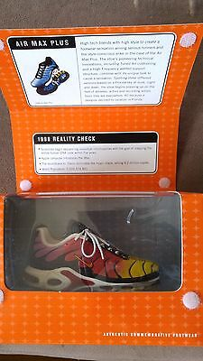 Bowen Collectible Nike Air Max Plus 1998 Varsity Red/Gold Raspberry Shoe
