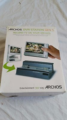 Archos DVR Station Gen 5 Dock for 405 605 705 Players, BOXED WORKING!