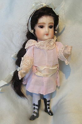 Antique All Bisque Reproduction French Doll*mignonette Doll*repro Doll*fg*