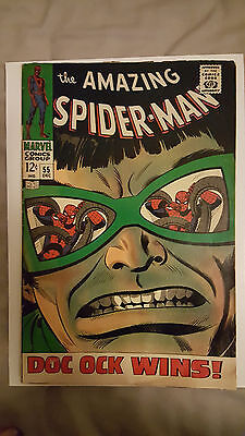 Amazing Spider-Man #55 Doctor Octopus! (Marvel Comics) 1966 Cents copy VG (4.0)