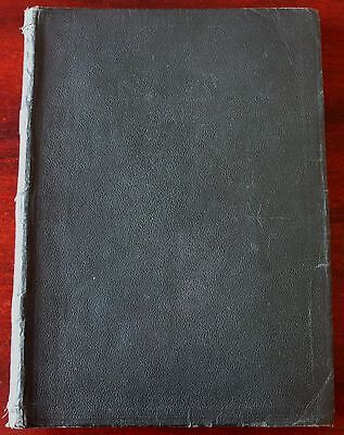 Leather Bound Book Of Original Sheet Music 22 Songs (1905) England