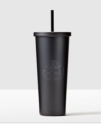 Starbucks Cold Cup Matte Black Stainless Steel Cold Cup New