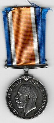 WWI Silver British War Medal - Canadian Army Medical Corp (A. M. Fraser)