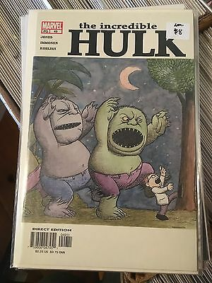 INCREDIBLE HULK #49 Vol 2 NM- 1st Print WHERE THE WILD THINGS ARE Kaare Andrews