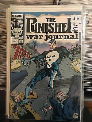 PUNISHER WAR JOURNAL #1 NM 1st Print JIM LEE COVER