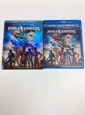 Sabans Power Rangers 2017, BLU RAY, & DIGITAL, NO DVD Included, Please Read