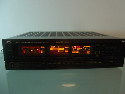 JVC RX-7V Computer Controlled Stereo Receiver 1986 VINTAGE-sea 7 band equalizer