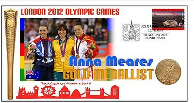 Anna Meares 2012 Olympic Australia Cycling Gold Cover 3