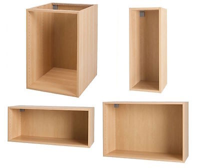 Ikea Akurum Birch Cabinet Boxes- Choose Size