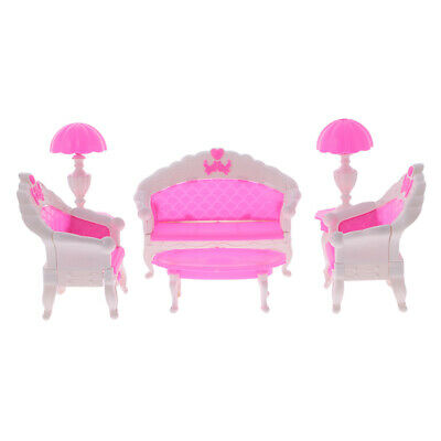 barbie m belset wohnzimmer eur 14 50 picclick de. Black Bedroom Furniture Sets. Home Design Ideas