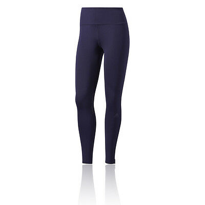 Adidas Supernova Womens Blue Climalite Work Out Long Tights Bottoms Pants
