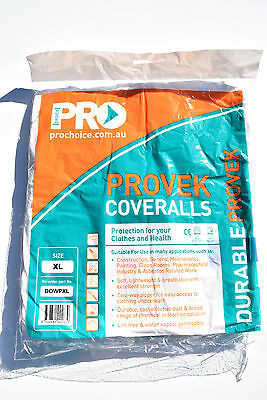(Pack of 10)Pro Choice Provek Disposable Coverall ASBESTOS XL