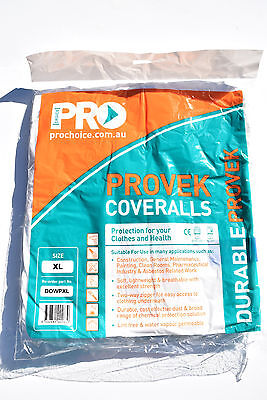 Pro Choice Provek Disposable Coverall ASBESTOS XL