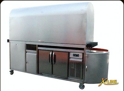 Coffee Cart Stainless Steel Barista Business Coffee..****Must be Sold****