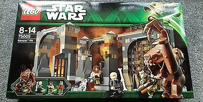 Lego Star Wars Rancor Pit 75005 Retired Set Brand New Sealed Free Delivery