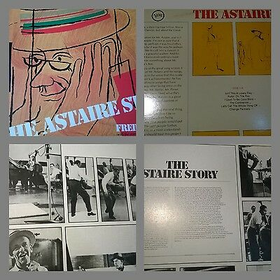 LP  -The Astaire Story - With Oscar peterson Barney kessel Charlie Shavers