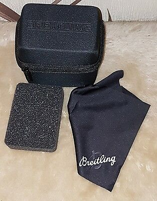 Breitling Watch  Box Travel Bag Case  New