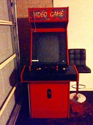 Retro Video Game Arcade Machine