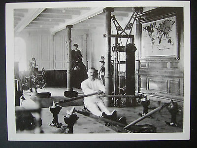 TITANIC POSTCARD- T W McCAWLEY- TITANIC'S PHYSICAL INSTRUCTOR