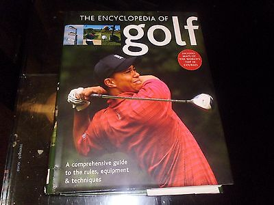 The Encyclopedia Of Golf Hardback Book