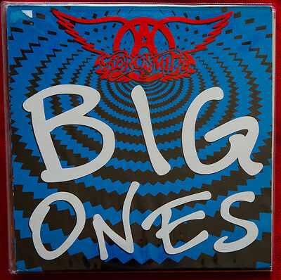 AEROSMITH BIG ONES M- / Mint UNPLAYED rare this condition 2 x lp vinyl GEF24546