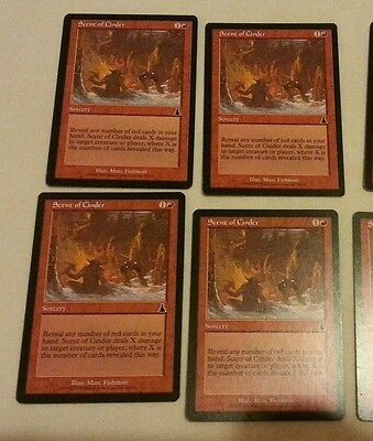 X4 scent of cinder mtg magic the gathering