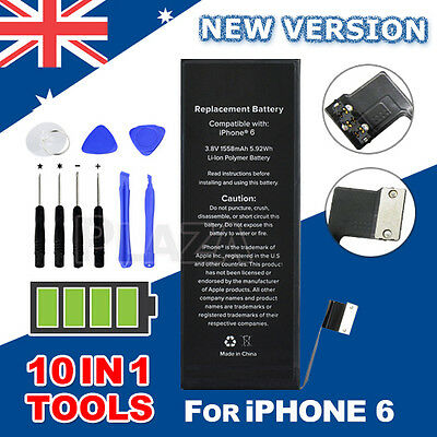 Internal Replacement Battery Li-ion 1810mAh For Apple iPhone 6 Free Tools Kit