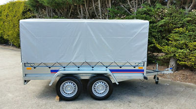 NEW TWIN AXLE TRAILER   CAMPING TRAILER 8X4 FT  750 kg