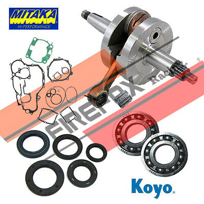 Honda CR250 1988 1989 1990 1991 Bottom End Rebuild Kit Inc. Crank & Gaskets