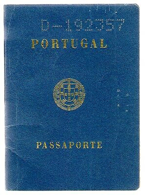 Portugal Old Complete Passport 1972 Several Stamps