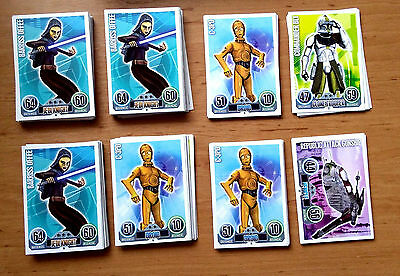 Star Wars Force Attax Topps
