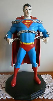 "Superman 25"" Statue Warner Bros EXTREMELY RARE Once Off Sale"