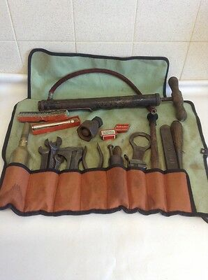 austin 7 seven healey spanners and other tool kit items