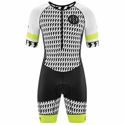 Zoot Limited Triathlon Tri Suit Zip Short Sleeved Mens Size M
