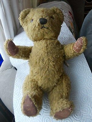 Old Chad Valley Teddy Bear (Chiltern Hygienic Toys)