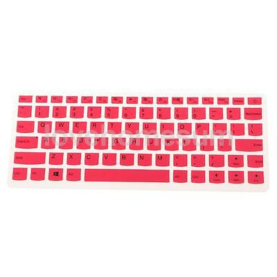 Soft Keyboard Cover Skin Protector for Lenovo 710S 14'' Laptop PC Pink
