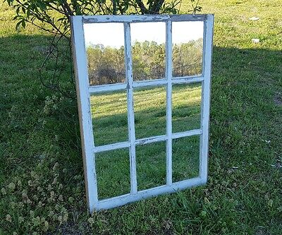 Vintage Sash Antique Wood Window Picture Frame Pinterest 9 Pane Rustic Mirrors