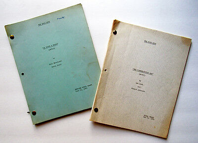 "Vintage 1969 ""The Good Guys"" script duo ""To Catch a Rufus"" & ""Communication Gap"""