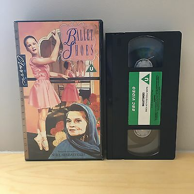 Ballet Shoes - Rare Bbc Vhs Video - Uk Pal - Green Label Cassette